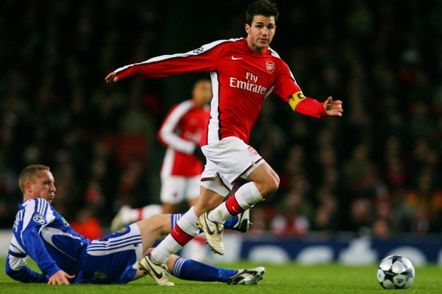 Cesc Fabregas... (Photo: AFP)