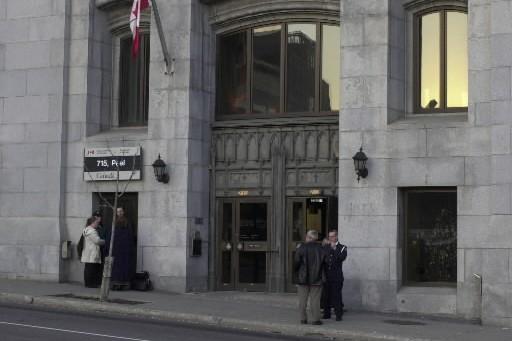 Le bâtiment du  SCRS à Montréal.... (Photo: La Presse)