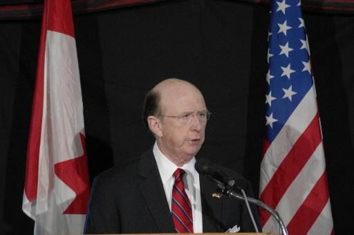 L'ambassadeur des États-Unis au Canada, David  Wilkins.... (Photo: PC)