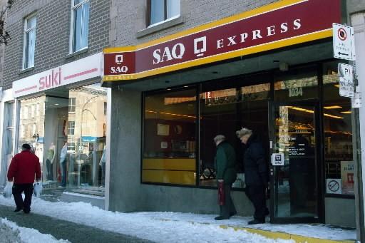 Les SAQ sont fermés le jour de Noël... (Photo: Armand Trottier, La Presse)