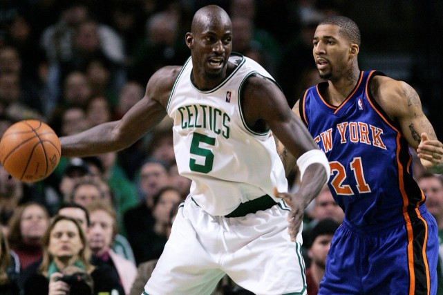 Kevin Garnett... (Photo: AP)