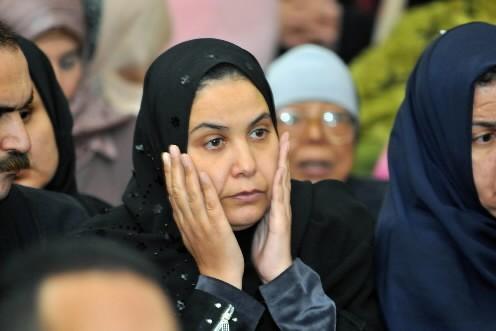 La mère du jeune garçon... (Photo: AFP)