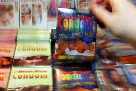 Des préservatifs... (Photo: AFP)
