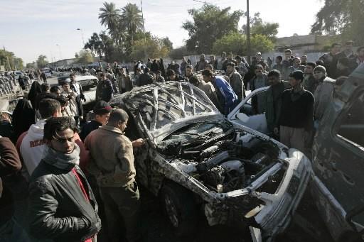 Vingt-deux Irakiens ont été tués et 54 blessés samedi dans un attentat à la... (Photo: Reuters)