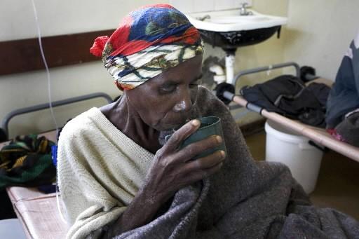 L'épidémie de choléra au Zimbabwe a provoqué la mort d'au moins 1 500... (Photo: Bloomberg)