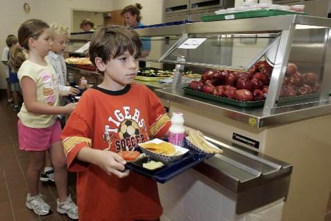 Le département de l'agriculture américain (USDA) s'est intéressé aux cafétérias... (Photo: AP)