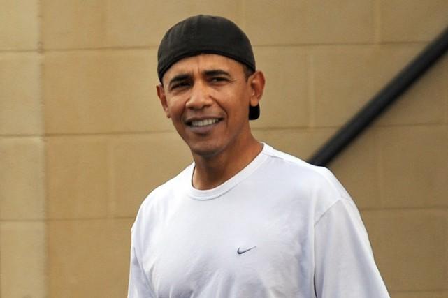 Barack Obama est présentement à Hawaii pour les... (Photo: AFP)