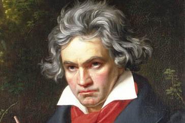 Une représentation de Ludwig van Beethoven...
