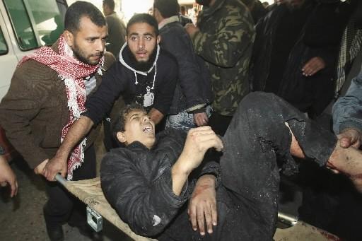 Un porte-parole du gouvernement israélien, Avi Pazner, a affirmé dimanche que... (Photo: Reuters)