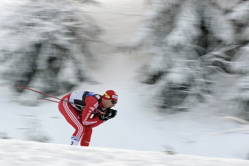 Dario  Cologna... (Photo: AFP)