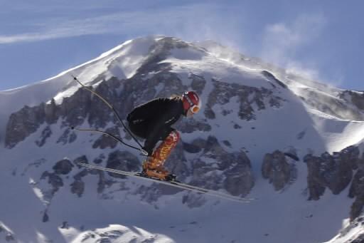 La Québécoise Geneviève Simard n'a pu terminer dans les dix premières skieuses... (Photo: Bernard Brault, archives La Presse)