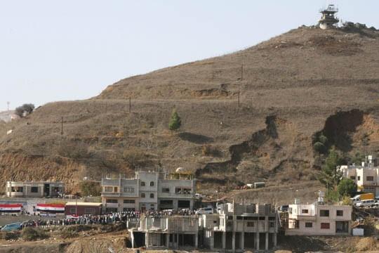 Les Druzes, d'origine syrienne, restent partagés sur la... (Photo: Reuters)
