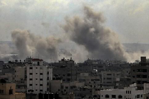 La ville de Gaza... (Photo :AP)