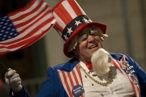 Un jeune partisan de John McCain, lors des... (Photo: Bloomberg News)