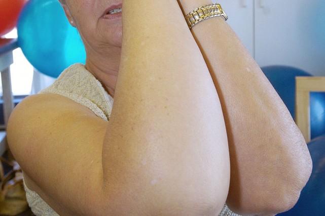 Des mesures simples après un cancer du sein comme le renforcement des muscles... (Photo: archives Le Soleil)