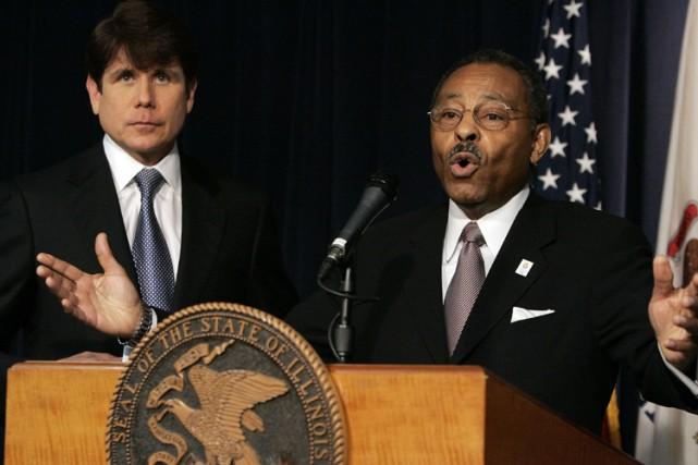 Le gouverneur de l'Illinois accusé de corruption, Rod... (Photo: Reuters)