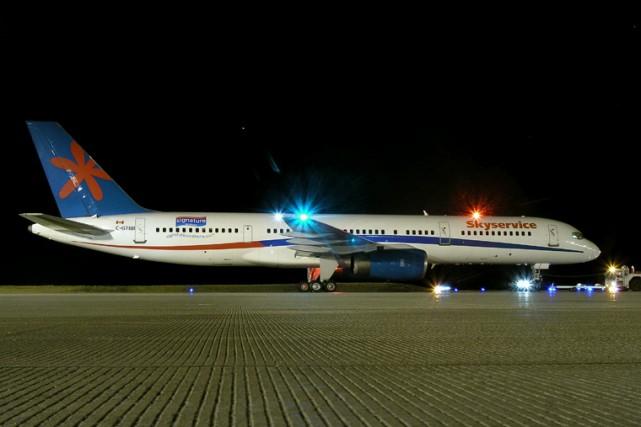 Un avion à destination de Toronto a été détourné vers la République... (Photo: airplane-pictures.net)