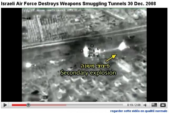 Une vidéo publiée par l'armée israélienne...