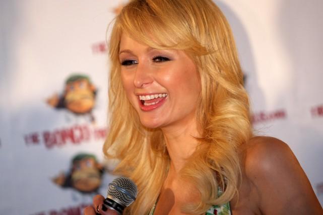 Paris Hilton... (Photo: AFP)