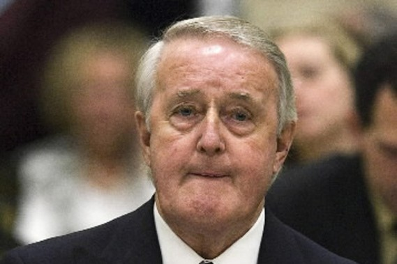 Brian Mulroney... (Photo PC)