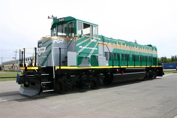 Le constructeur de locomotives Railpower Technologies (T.P),... (Photo: Railpower)