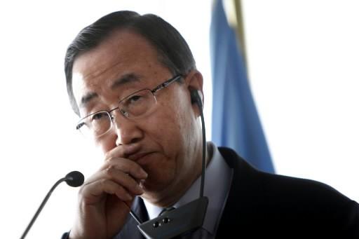 Ban Ki-Moon... (Photo: AP)