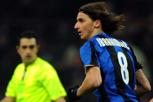 Zlatan Ibrahimovic... (Photo: AFP)