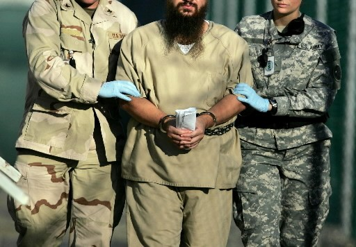 Un détenu à Guantanamo... (Photo: AP)