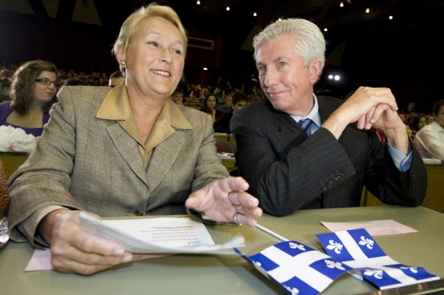 Gilles Duceppe et Pauline Marois... (Photo: PC)