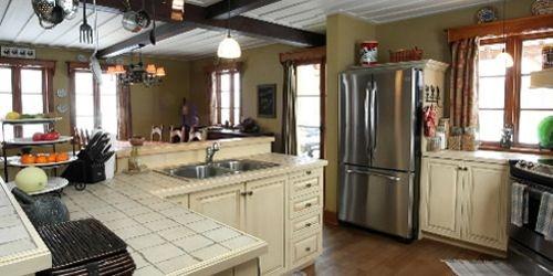 Une maison neuve style centenaire mich le laferri re am nagement - Maison mobile neuve ...