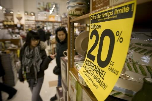 Les prix à la consommation aux États-Unis ont baissé en mars par rapport à leur...