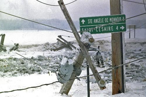 La pensée positive ne protégera pas du stress des changements climatiques. Du... (Photo: Armand Trottier, Archives La Presse)