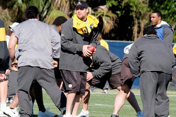 Le quart Ben Roethlisberger et ses Steelers ont... (AP)
