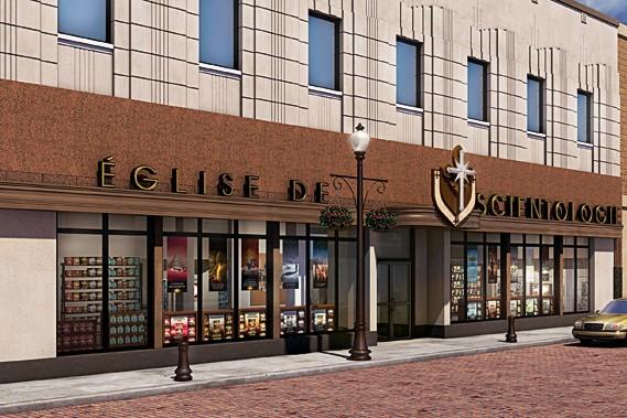 Les scientologues investiront 4 millions $ pour la construction d'une église en... (Illustration fournie par l'Église de scientologie)