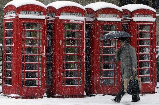 Cambridge, dans l'est de l'Angleterre, n'a pas été... (Photo: Reuters)