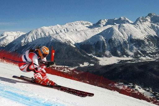 Saint-Moritz... (Photo: AP La Presse)