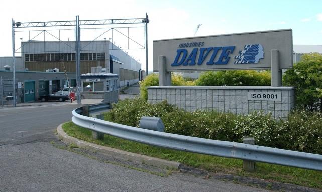 Les chantiers de la Davie a Lévis... (Le Soleil)