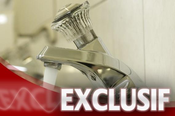 Le projet qui vise l'installation de compteurs d'eau dans les entreprises de... (Photo: Ivanoh Demers, La Presse)
