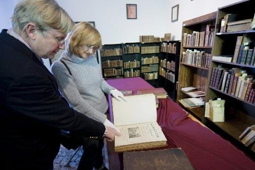 Les quatre mille volumes rares des XVIe, XVIIe... (Photo David Boily, La Presse)