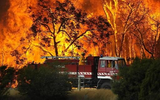 L'Australie, en proie à des incendies meurtriers, est le pays habité le plus... (Photo: AP)