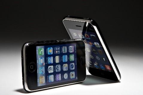 L'iPhone d'Apple... (Photo: Bloomberg News)