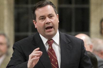 Le ministre canadien de l'Immigration, Jason Kenney,... (Photo PC)