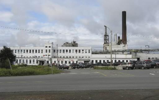 L'usine d'AbitibiBowater à Grand Falls-Windsor... (CP)