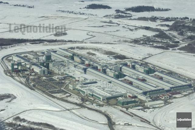 L'usine Grande-Baie de Rio Tinto Alcan... (Le Quotidien, Jeannot Lévesque)
