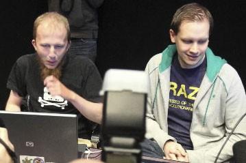 Gottfrid Svartholm Varg et Peter Sundin de The... (Photo: Reuters)