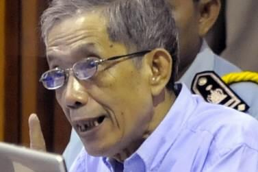 Kaing Guek Eav, plus connus sous le nom... (Photo: AP)