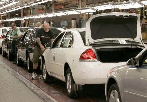L'usine de GM à Oshawa en Ontario... (Reuters)