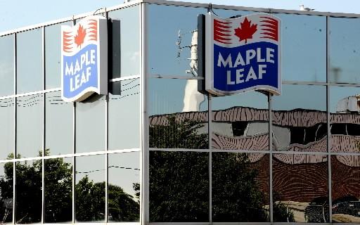 Les Aliments Maple Leaf (t.mfi)  ont présenté un bénéfice... (Photo: La Presse Canadienne)
