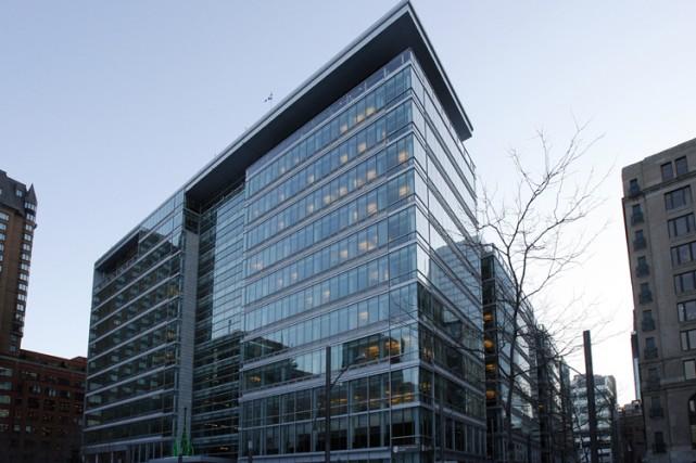 L'édifice du siège social de la  Caisse... (Photo: Robert Mailloux, La Presse)