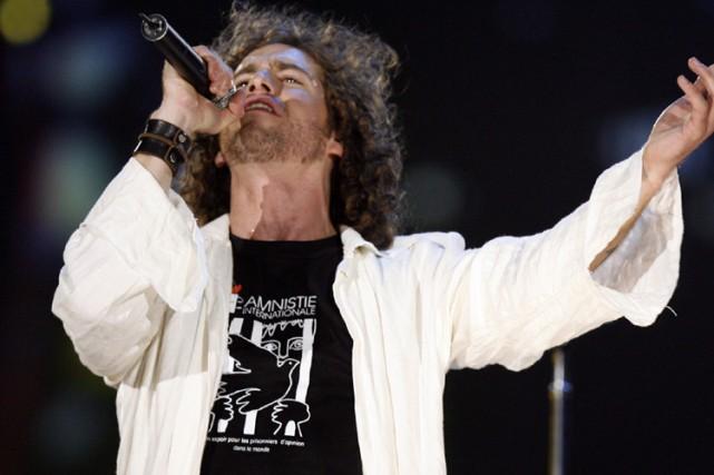 Le chanteur Jonas... (Photo: François Roy, La Presse)